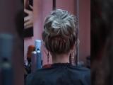 Прическа на короткие волосы & Высокий 'ПУЧЕК'