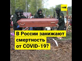 Занижает ли Россия статистику по смертности больных коронавирусом?