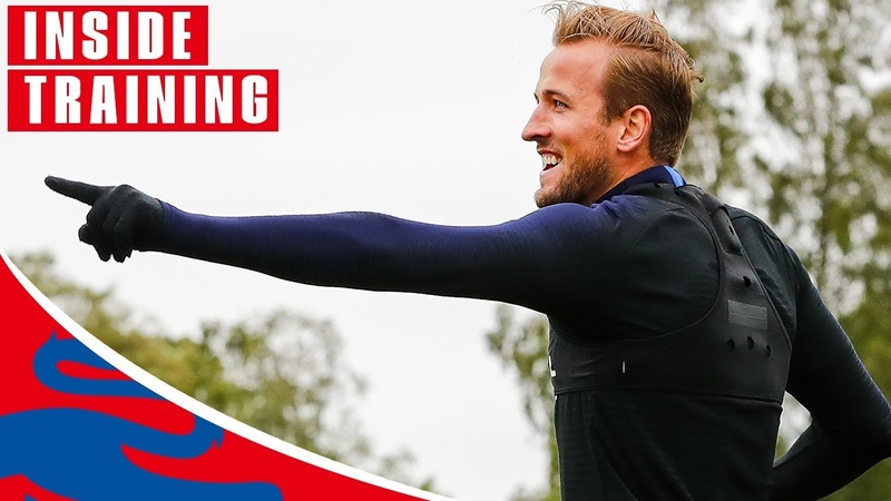 England Prepare for Colombia! | Inside Training | World Cup 2018