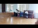 УСАЧЁВА ЕКАТЕРИНА исполняет Бурре Моцарта