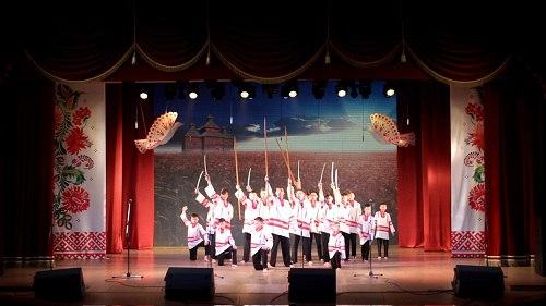 Отчетный концерт «Песня-птица» народного ансамбля песни и танца «Сибирь»