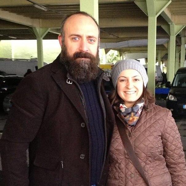 фото халит эргенч и его жена: