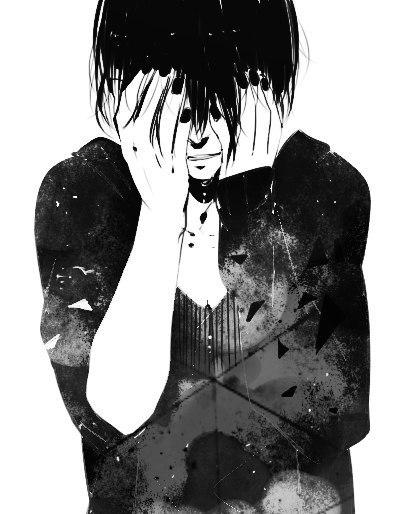 Одиночество аниме арты 2