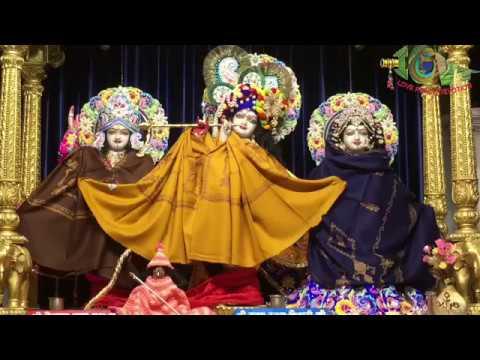 Шрипад БВ Шридхар Махарадж - Мангала-арати 14.12.2018 (Дели)
