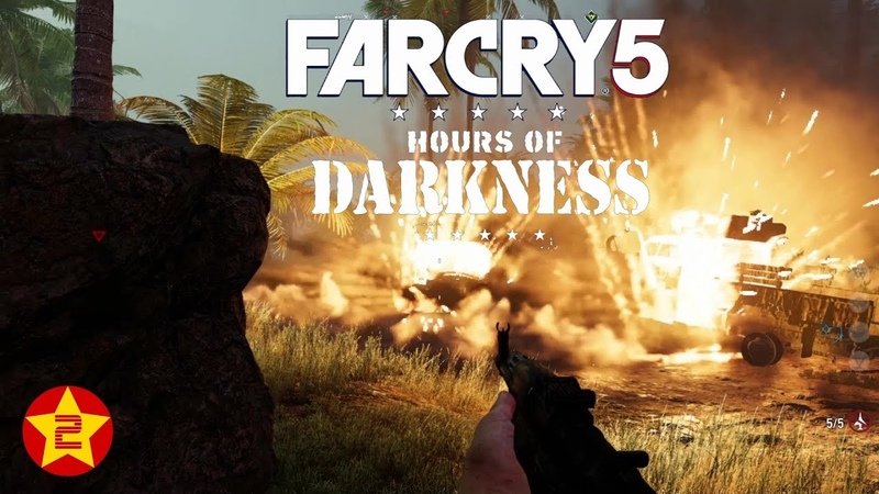 Nonton Game Perang Seru!: USA vs Vietnam: FAR CRY 5, HOURS OF DARKNESS Gameplay PC. Part 2