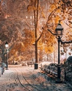 Нравится очень это чувство, перед зимой. Так спокойно на улице, идет тихо снег…