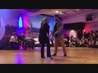 Scandinavian open 2018 jnj invitational maxence martin & tatiana mollmann