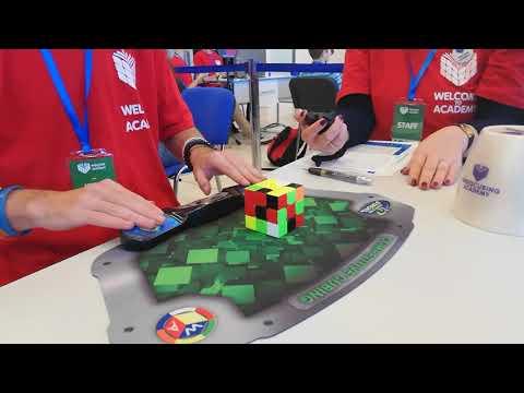 WTA 2018 Rubik's Cube Round 1: 11.91 (PB)