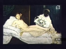 34 Palettes Manet Натурщица с черной кошкой