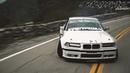 BMW E36 Mountain Drifting