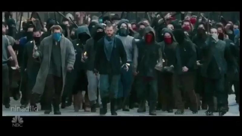 Exclusive trailer of @robinhoodmovie at Fallon Tonight