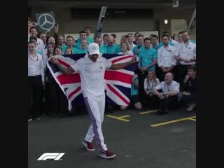 Mexico 2018: Mercedes celebrate