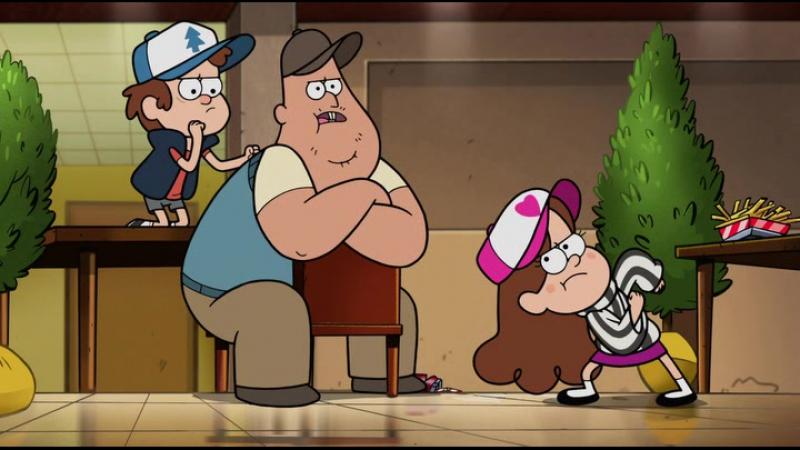 Гравити Фолз 2 сезон 5 серия Свидание Зус