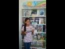 Жастар таңдайды - Молодежь предпочитает атты жобасына қатысушы Анарбаева Аида жастарды кітап оқуға шақырады