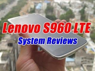 Hot China Octa Core Phone - Lenovo S960 Lte Openning Box And Running Score