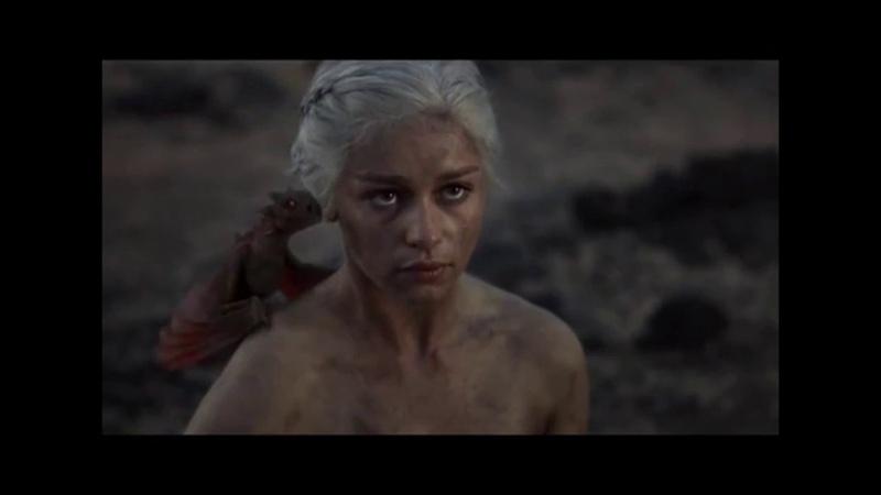 Рождение драконов Дайнерис Игра престолов