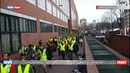 Нидерланды подхватили акцию желтых жилетов против повышения цен на топливо