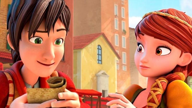 Леонардо: Миссия Мона Лиза — Русский трейлер (2018) — Италия — Мультфильм — Мультик — Мульт для детей — Детям