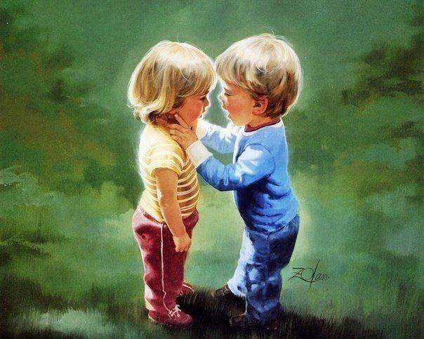 - Обними меня так сильно, как ты меня любишь!