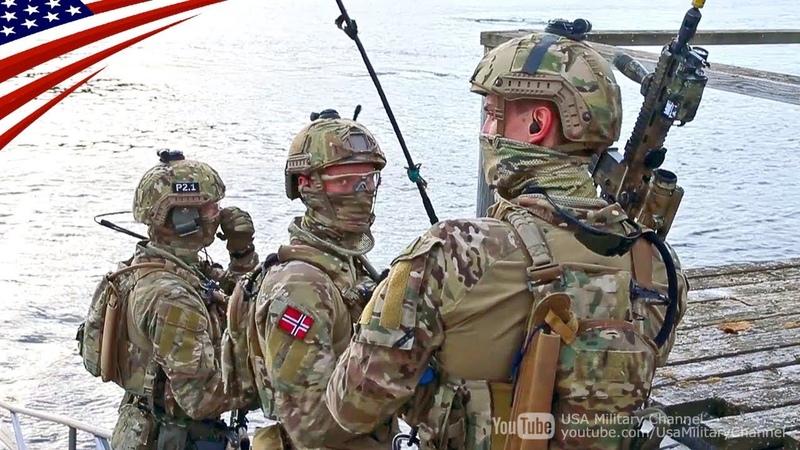 ノルウェー海軍の特殊部隊「KJK」(沿岸レンジャー・コマンド)の訓練