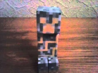 Бумажный Майнкрафт 3 серия.Райский крипер