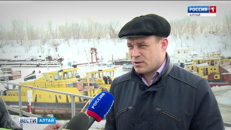 Речной флот Алтайского края начал готовиться к приходу большой воды