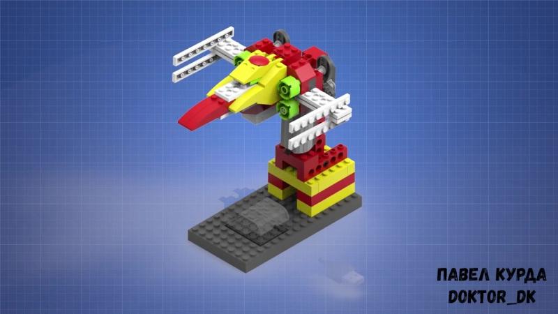 Модель X-wing. Инструкция по сборке. LEGO WeDO.