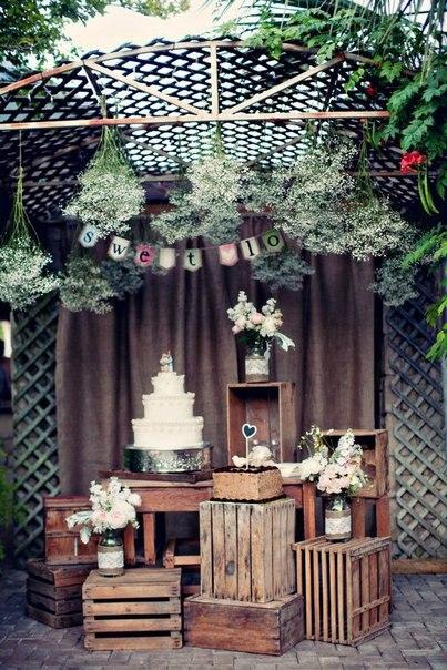 свадебный декор made in hand (10 фото) - картинка