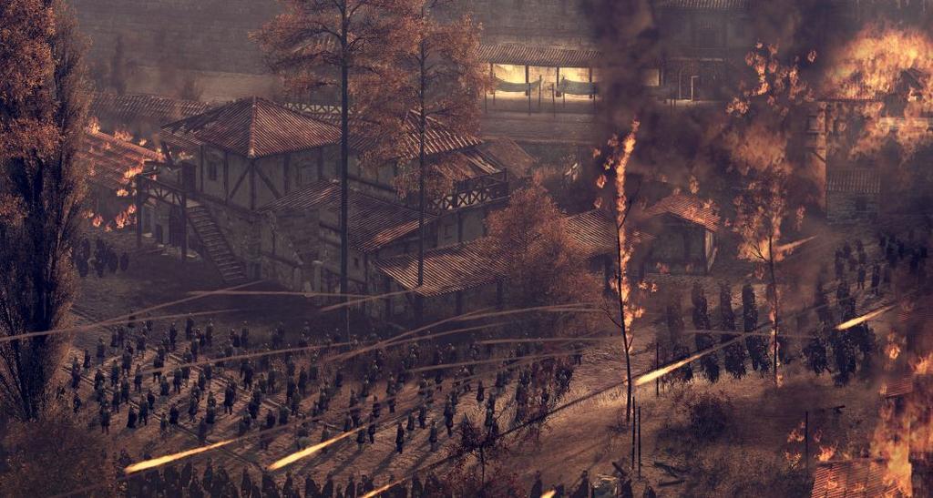 Панорамный скриншот Битва За Длондиниум в Total War: Attila