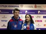 Елизавета Худайбердиева -- Никита Назаров Интервью РТ Пермь 2019