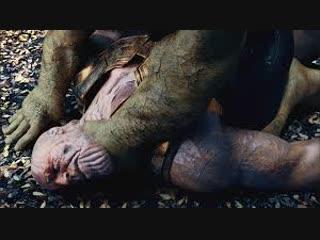ХАЛК против ТАНОС - Сцена боя (Битва в Ваканде)   Мстители: бесконечность войны альтернативное окончание
