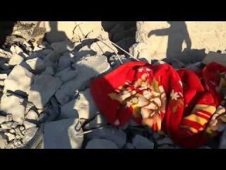 Сирия: гражданские дома, по которым американцы нанесли воздушный удар, пров. Идлиб (Ч.2). 23.09.2014