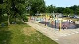 Splash Park Equipment - Wes Montgomery Park - Indianapolis, Indiana
