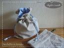 Sacchetto di tessuto doppio Taglio e cucito per principianti