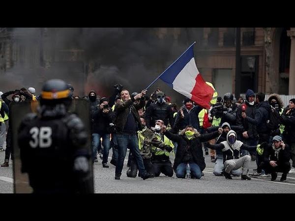 Sarı Yelekliler Fransanın öfke dolu günleri