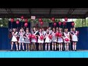Прощальная песня 11-б Покровской средней школы, на последнем звонке 2018г.(авт.Игорь Жабский)
