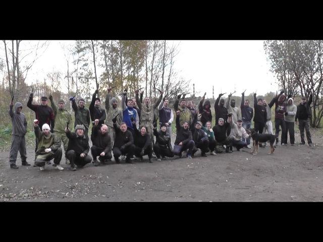 Тренировка школы Казачьего Ножевого Боя осень 2016