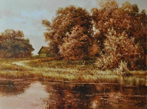 Российский художник Алексей Аникин родился 29 марта 1968 года в городе Дзержинске Нижегородской области