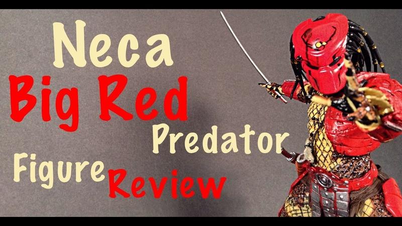 NECA Predator Series 7 BIG RED PREDATOR Action Figure Review Toy Review