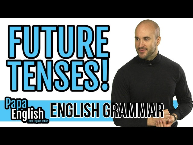 Will Going to Be ING Present simple - Future - Learn English Grammar
