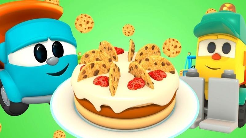 Canções infantis. Cante com Léo o caminhão! Os biscoitos.