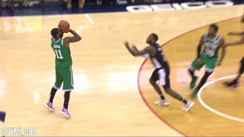 Kyrie Irving just TAKES OVER the overtime with two big 3-pointers to win the game