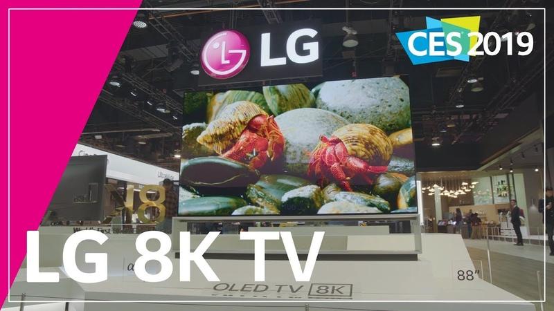LG at CES 2019-LG OLED 8K TV
