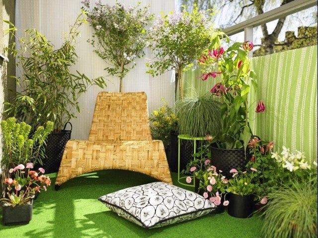 салатовая лоджия, зеленый балкон