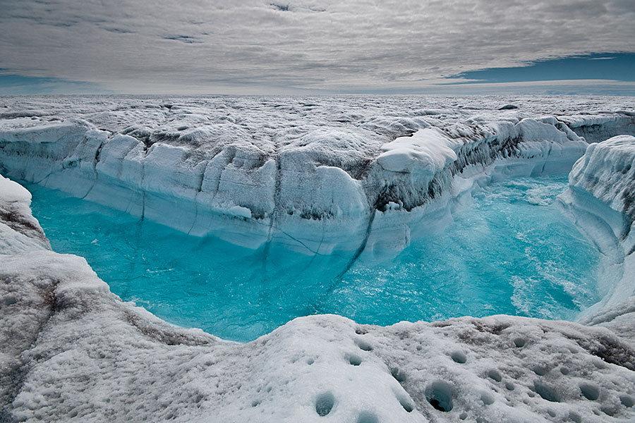 голубая река гренландия