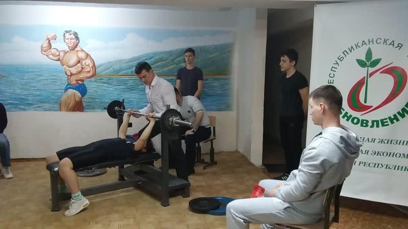 поднят вес 45 кг личный РЕКОРД в январе т исполнилось 13 ЛЕТ Корчевая Таня Рекорд личный