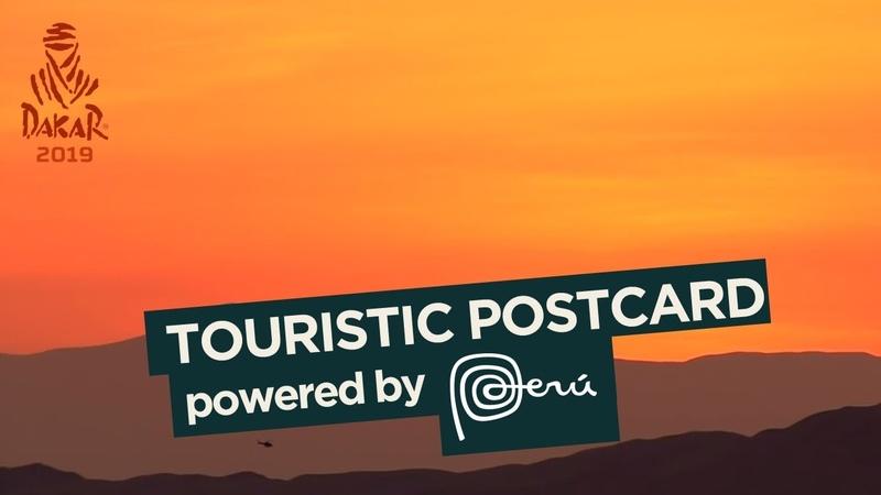 PERU Touristic postcard Stage 10 Pisco Lima Dakar 2019