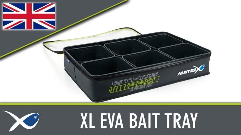 *** Coarse Match Fishing TV *** XL EVA Bait Storage System
