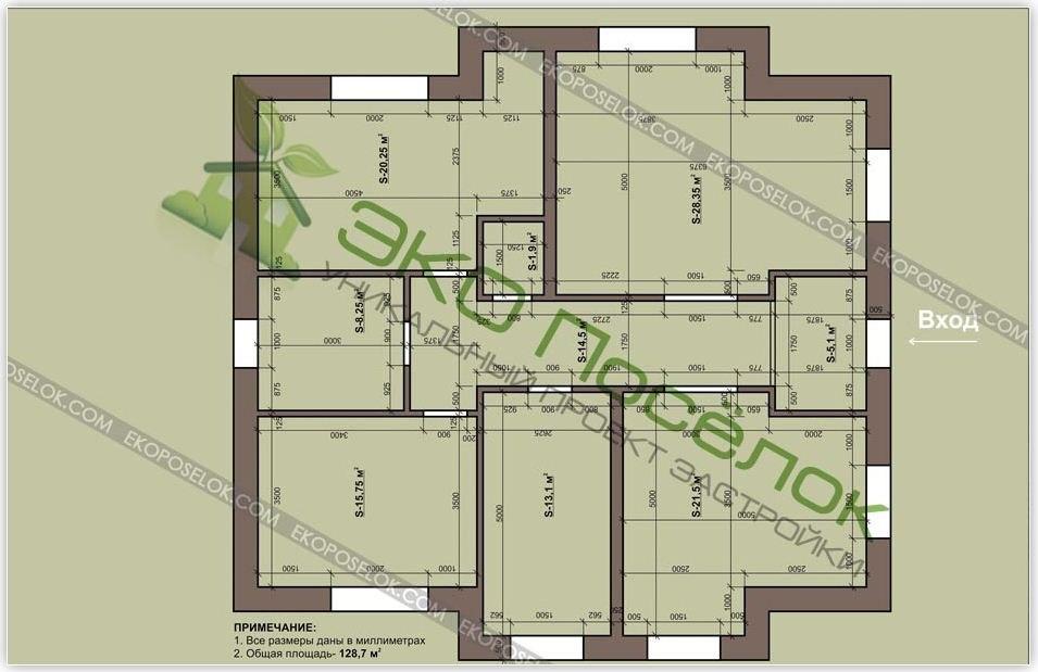 комплектация: План схема 1