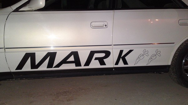 Наклейка на авто по вашему дизайну